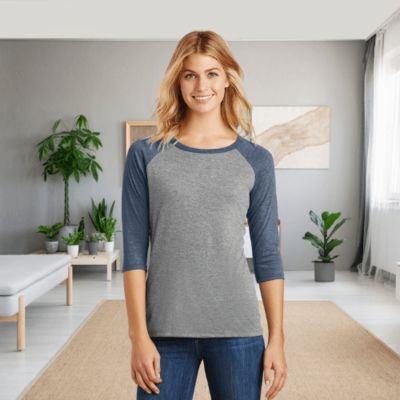 Women's 3/4 Sleeve T-shirts Thumbnail
